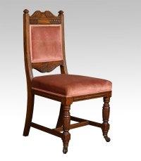 Set Of Ten Oak Dining Chairs - Antiques Atlas