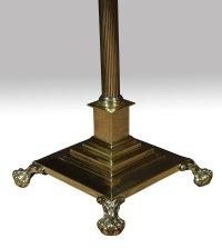 Antiques Atlas - Brass Standard Lamp