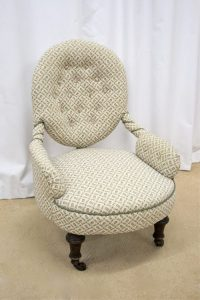 Victorian Nursing Chair - Antiques Atlas