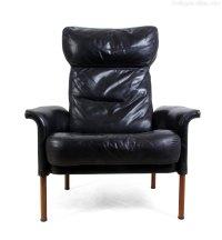 Antiques Atlas - Mid Century Leather Chair Danish C1970