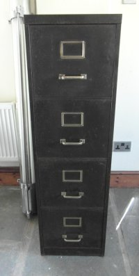 Antiques Atlas - Vintage Metal Filing Cabinet