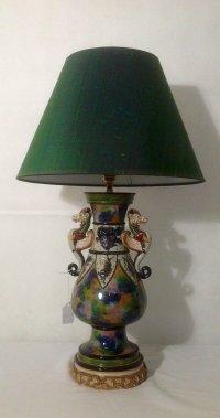 Antiques Atlas - Decorative Pottery Table Lamp