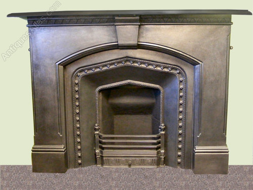 Antiques Atlas Victorian Gothic Fireplace