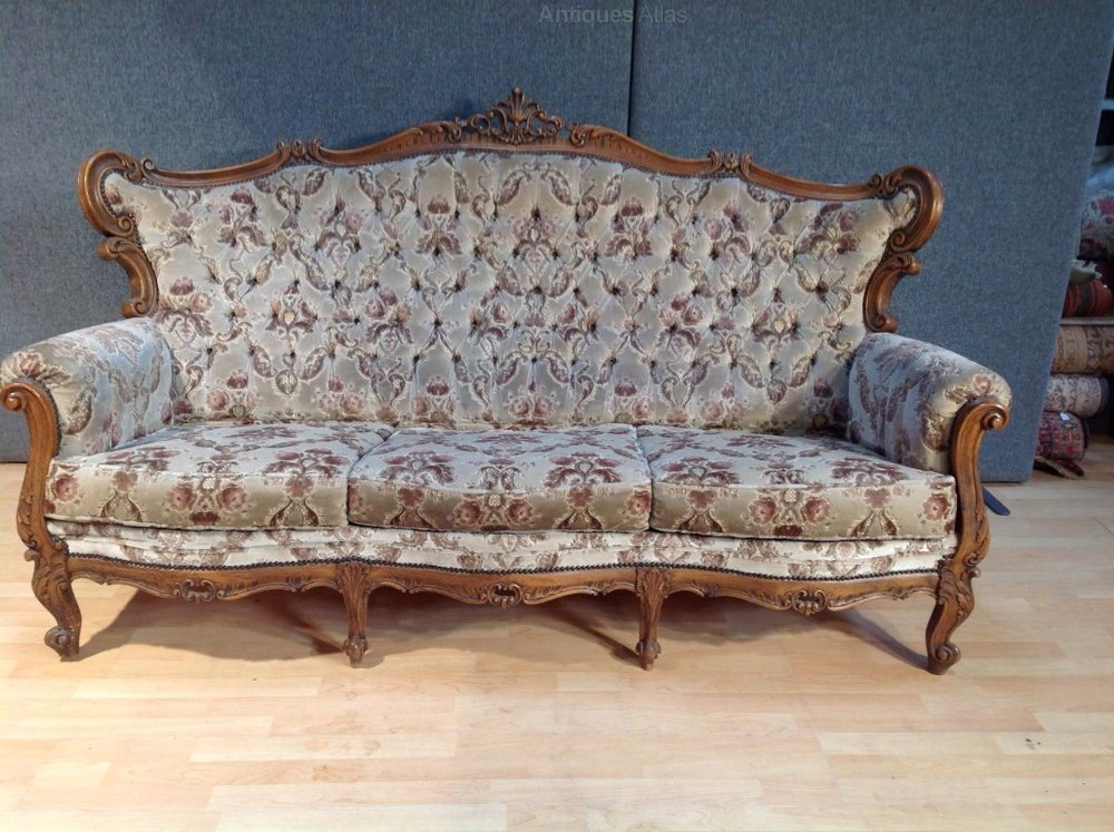 Antiques Atlas Antique French Upholster Louis Style Sofa