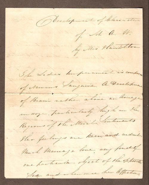 Antiques Atlas - Vertical  Horizontal Letter Of Circa 1850\u0027s - horizontal writing paper