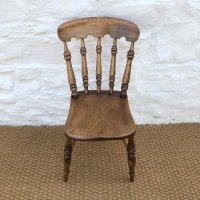 Set Of Four Victorian Farmhouse Dining Chairs 4 - Antiques ...