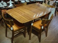 Antiques Atlas - Retro 1960s 1970s Solid Teak Dining Table ...