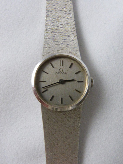 Vintage Ladies Rolex Watches Antiques Atlas - White Gold Omega Watch
