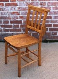 Beech Framed Church Chairs - Antiques Atlas
