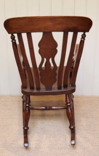 Farmhouse Rocking Chair - Antiques Atlas