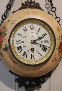 Antiques Atlas - French Toleware Wall Clock (France, C. 1890)