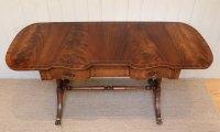 Mahogany Drop Leaf Sofa Table - Antiques Atlas