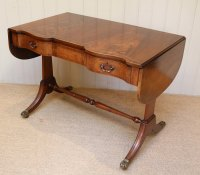Mahogany Drop Leaf Sofa Table