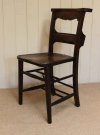 Set Of Six Church Chairs - Antiques Atlas