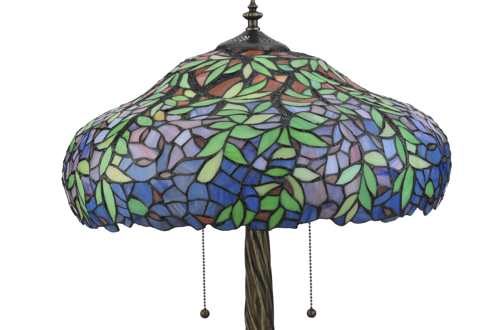 Tulip Ceiling Fan Meyda Tiffany 119674 Duffner And Kimberly Laburnum Table