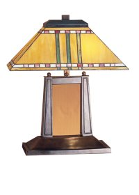 Meyda Tiffany 26004 Priarie Corn Mission Transitional Desk ...
