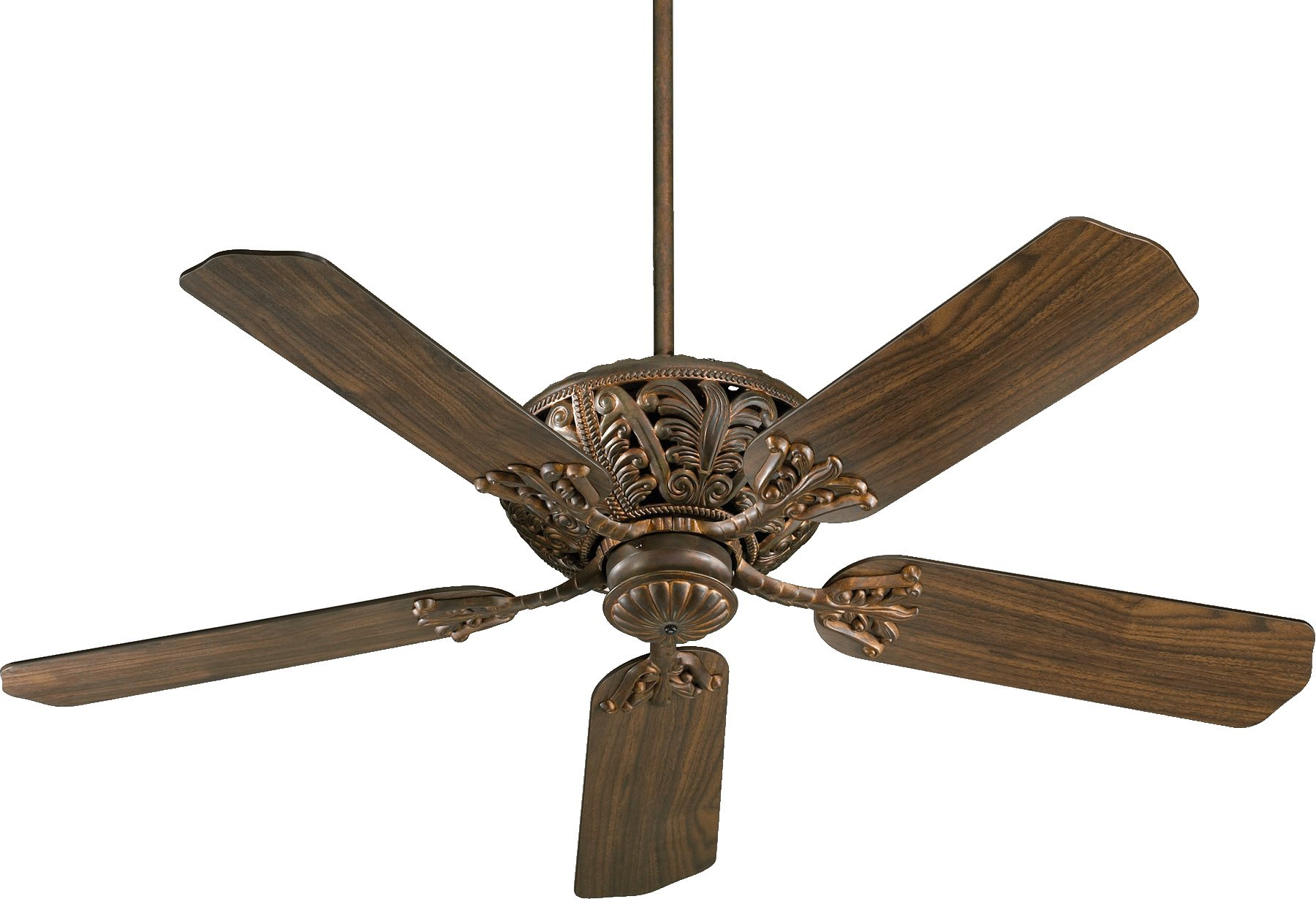 White Gold Ceiling Fan Quorum Lighting 85525 Windsor 52 Quot Traditional Ceiling Fan