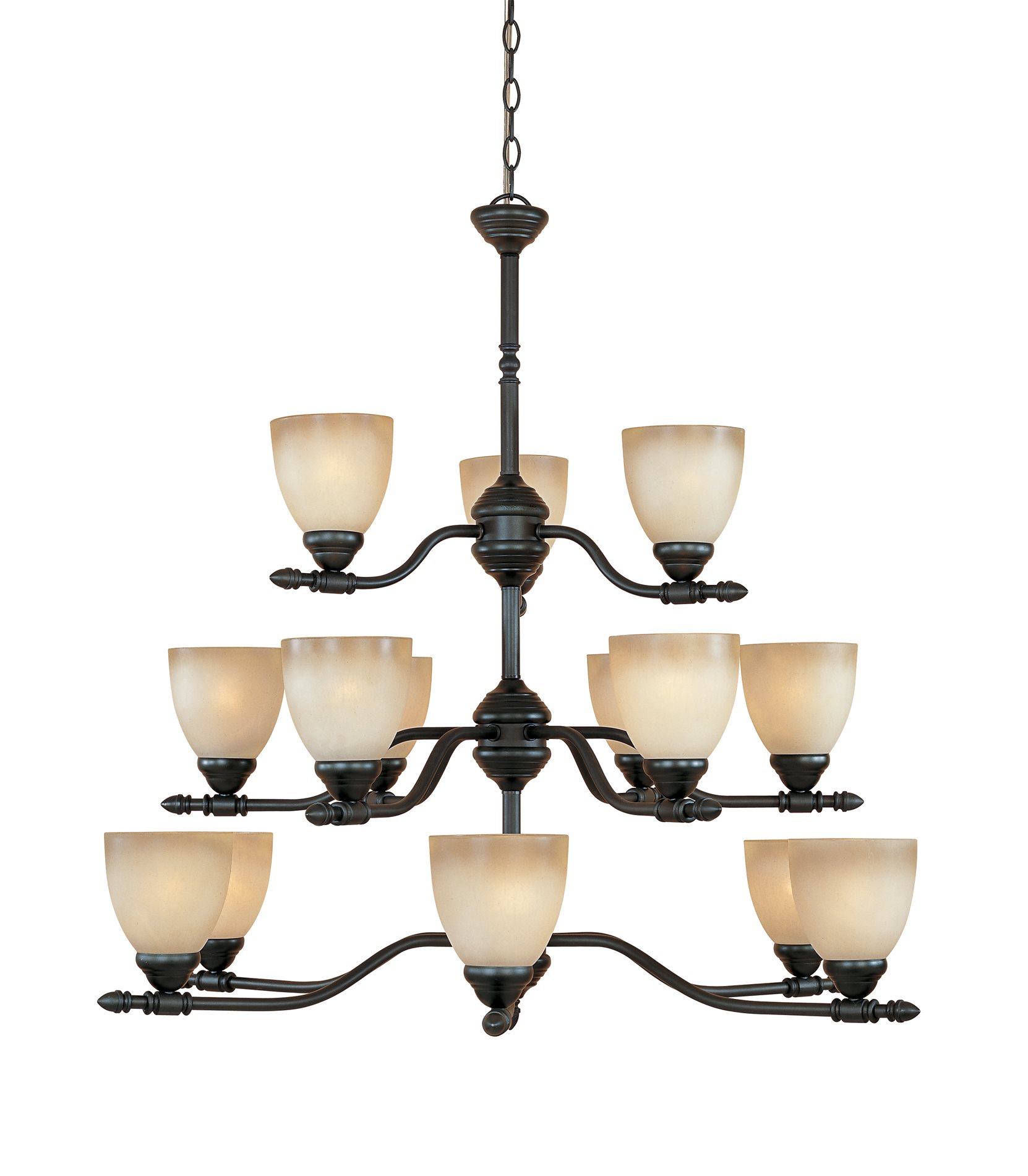 Designers Fountain Lighting Designers Fountain 940815 Orb Apollo Traditional