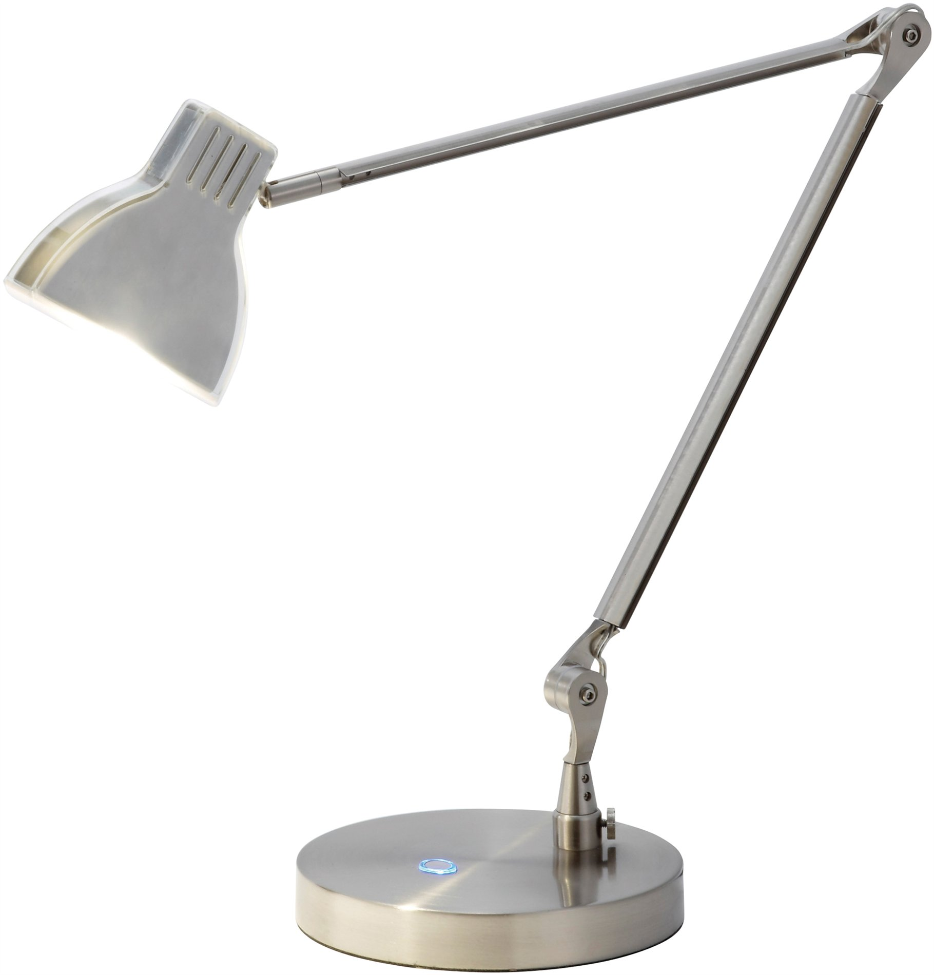 Architect Desk Lamps Adesso 3181 22 Silver Contemporary Led Architect Desk Lamp