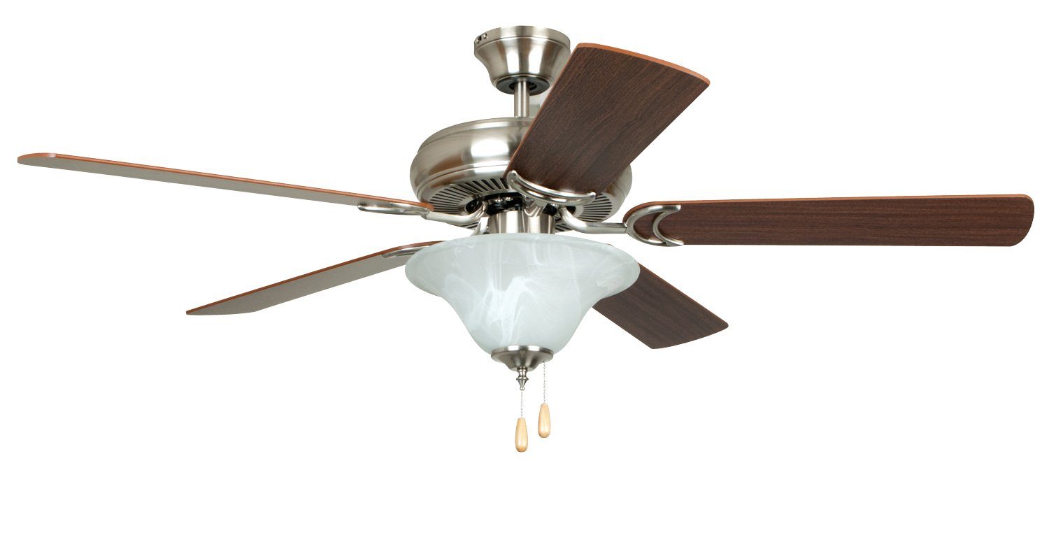 Home Decorations Ceiling Fans Craftmade E Dcf52bnk5c1 Decorator 39s Choice 52