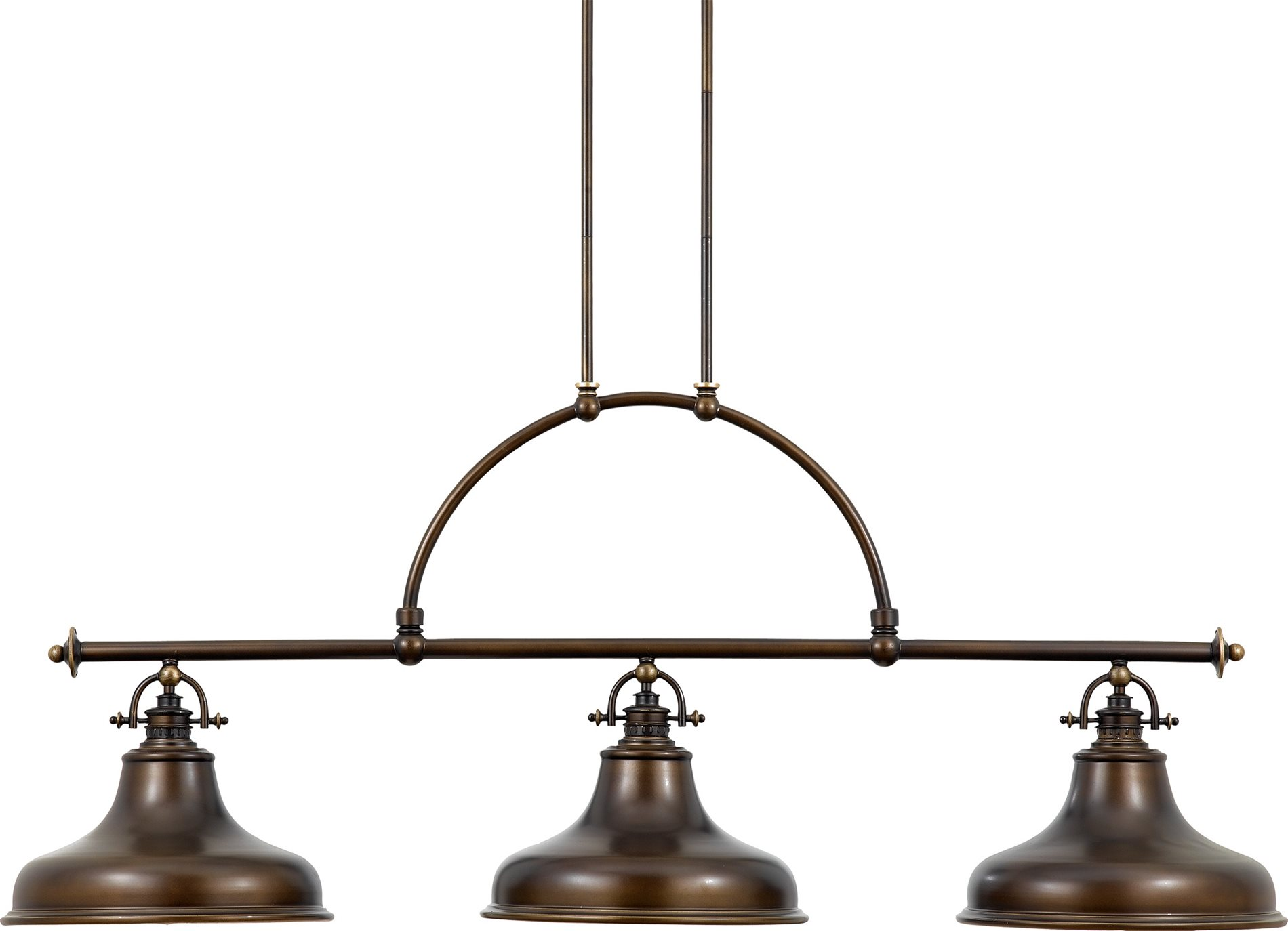 Light Fixtures For Kitchen Island Quoizel Er353pn Emery Transitional Kitchen Island