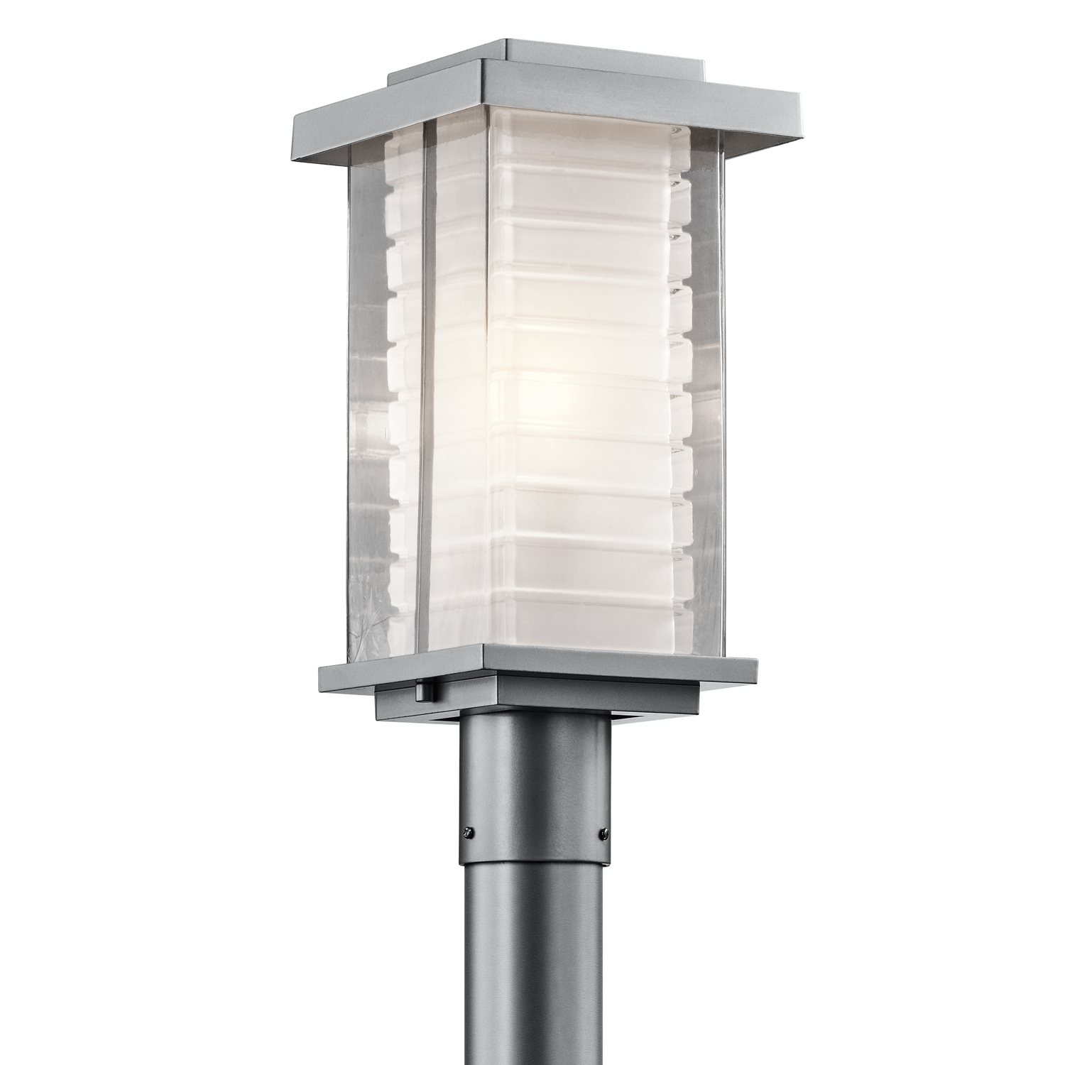 Contemporary Lamp Post Kichler Lighting Ascari Modern Contemporary Outdoor Post