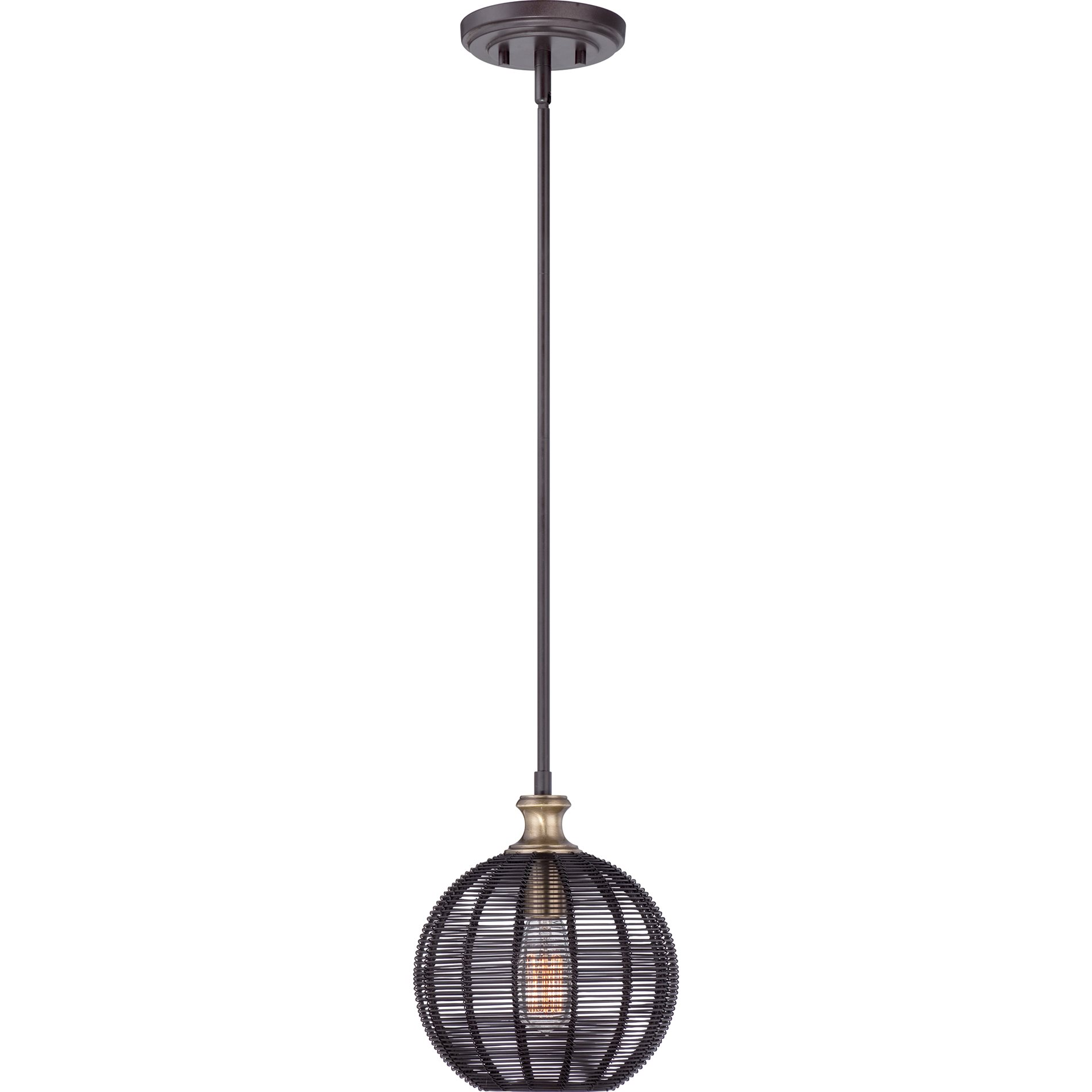 Beach Hanging Lights Quoizel Lbh1509wt Long Beach Pendant Light Qz Lbh1509wt