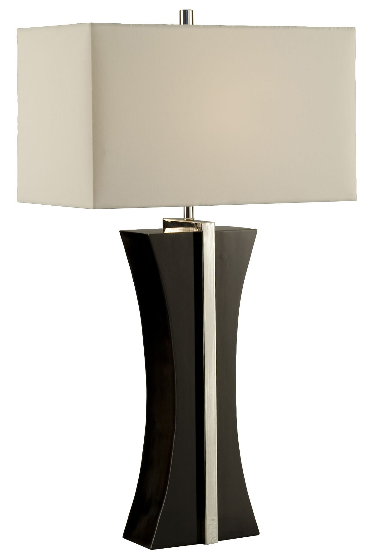 Contemporary Lamp Tables Nova Lighting 1010046 Ridgeway Modern Contemporary Table