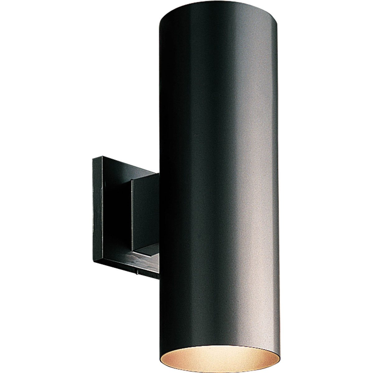 Images Of Wall Sconces Progress Lighting P5675 5 Quot Aluminum Cylinder Outdoor Wall