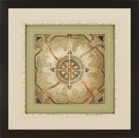 Jardine 7368 Petite Tiles I Transitional Framed Wall Art ...