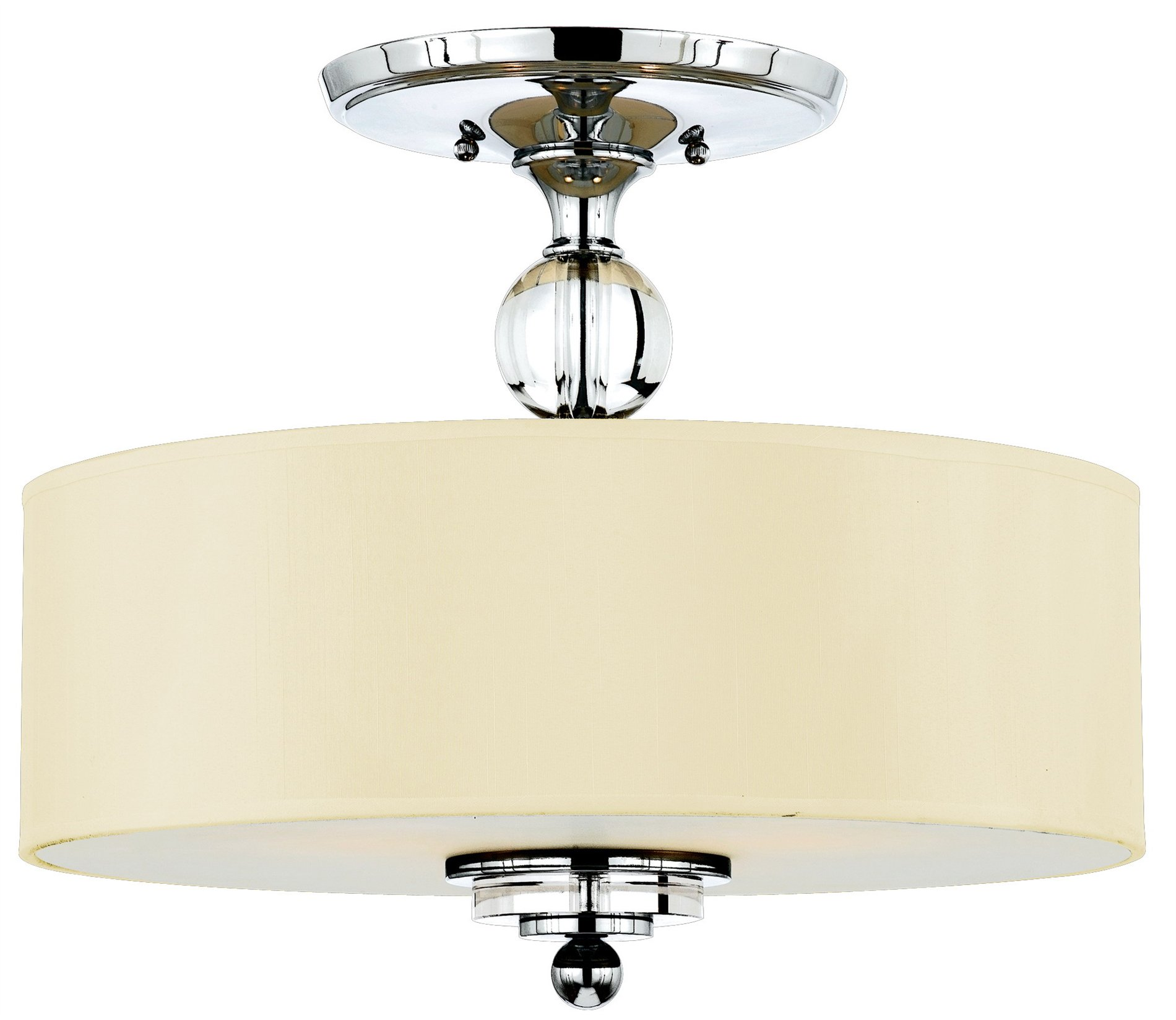 Cieling Lights Quoizel Dw1717c Downtown Modern Contemporary Semi Flush