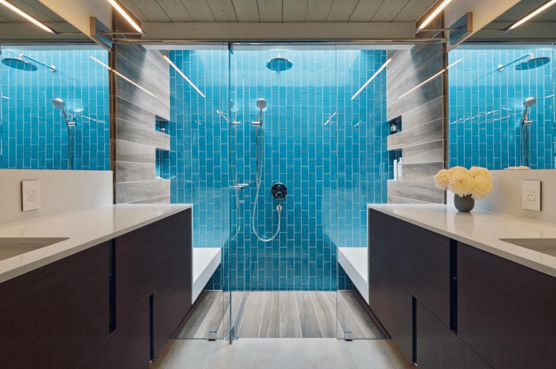 23 Banheiros Com Pastilhas Lindas Arquidicas