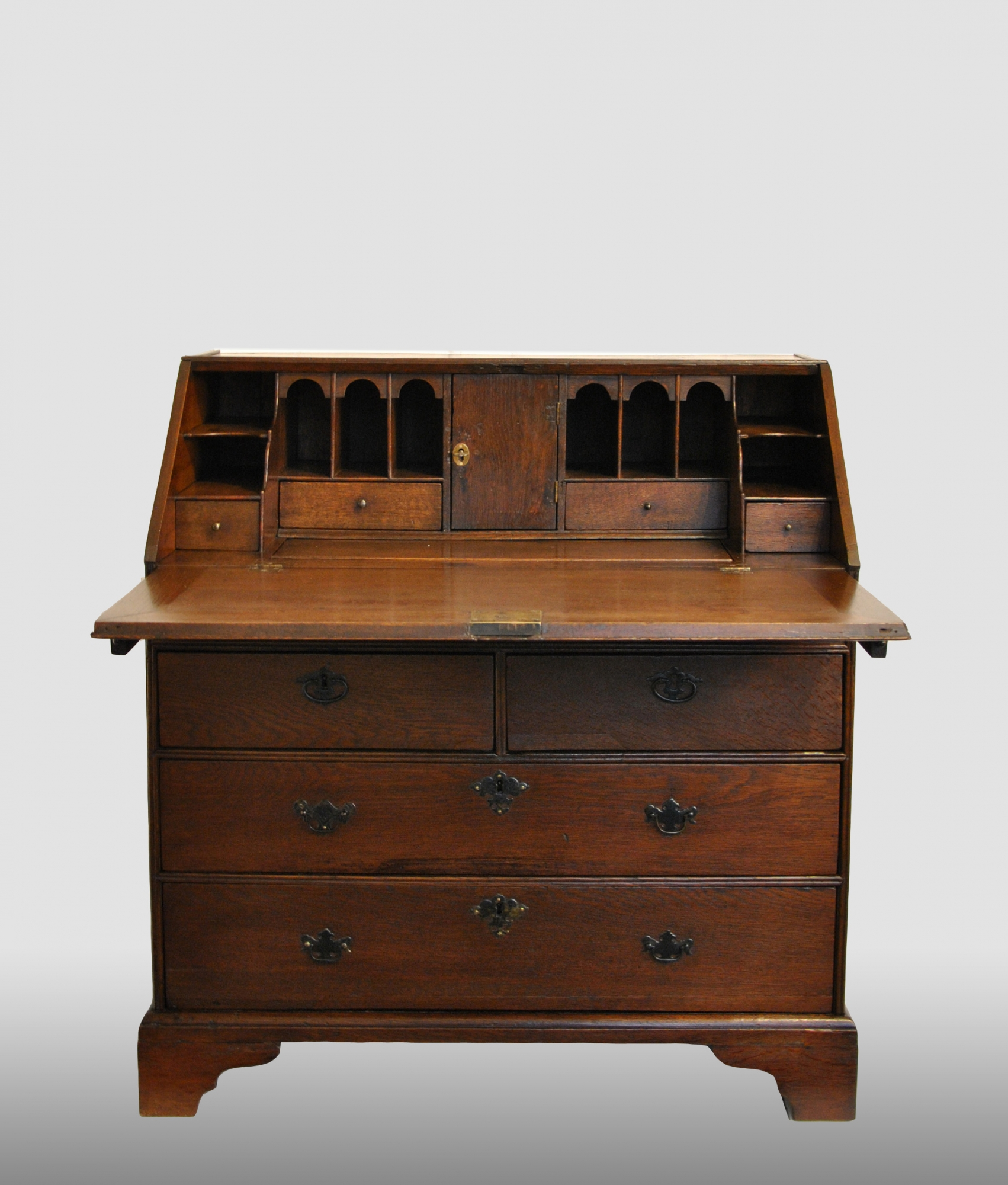 Engels Interieur Engels Secretaire Met Step Interieur 18e Eeuw Artlistings