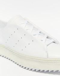 adidas | adidas Originals  Spitze weie Pumps mit flacher ...