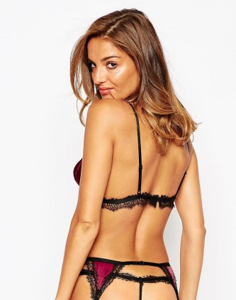 ASOS Georgia Satin & Lace Lingerie Set