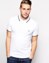 French Connection Polo Shirt - White