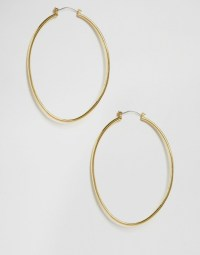 Cheap Monday | Cheap Monday Gold Hoop Earrings at ASOS