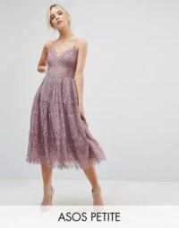 ASOS Petite | ASOS PETITE Lace Cami Midi Prom Dress