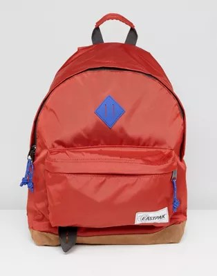 Eastpak Wyoming Backpack In Into Nylon Red Asos