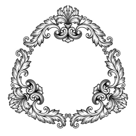 Ready made deisgns for acanthus - baroque scroll designs