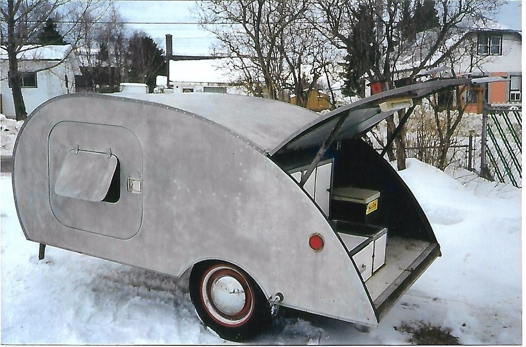 1939 Teardrop Trailer For Sale In Thunder Bay Silver - Trailers Thunder Bay