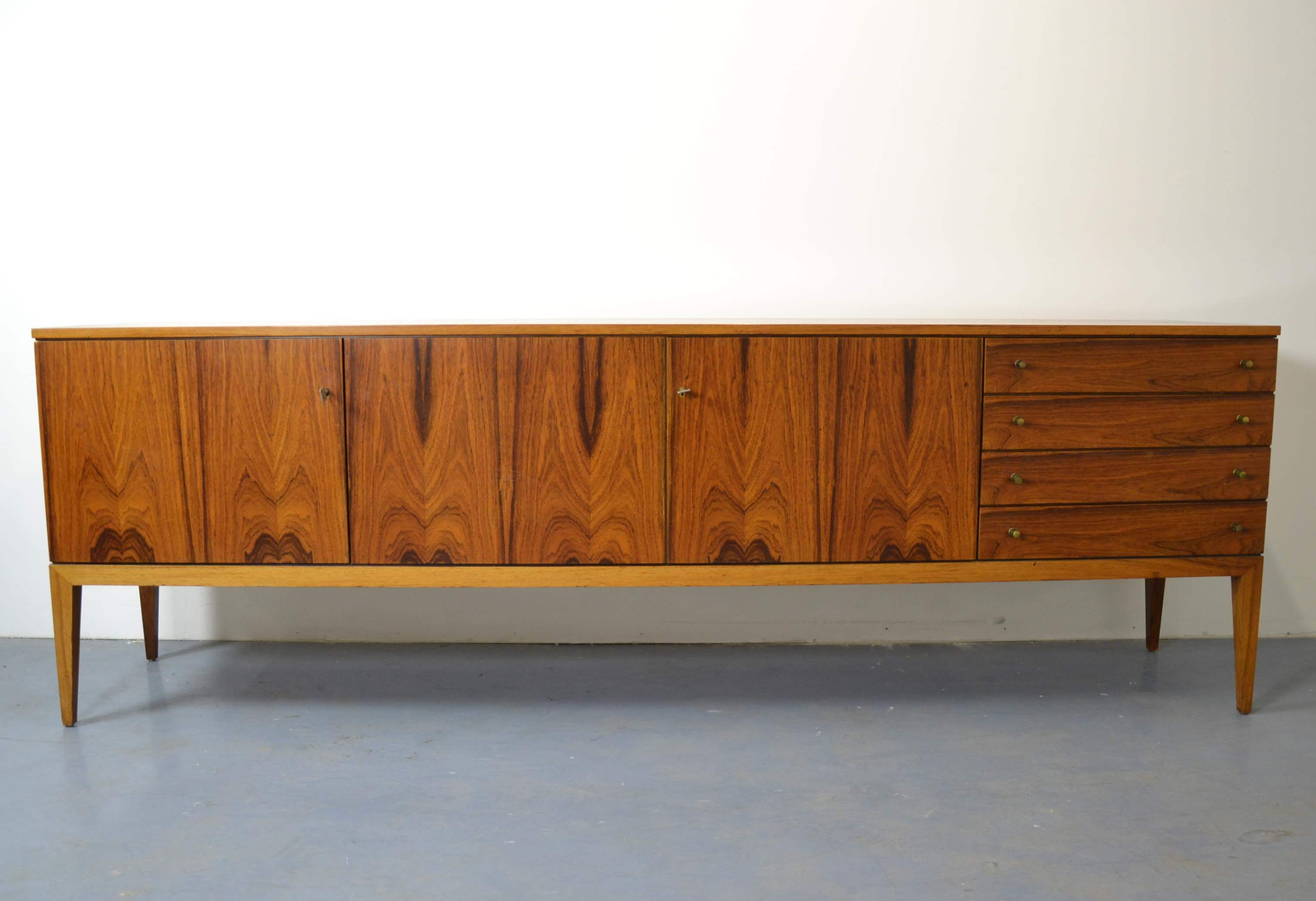 Sideboard 250 Cm Sideboard Von Bornhold Circa 1970 Furniture Cupboards Shelves