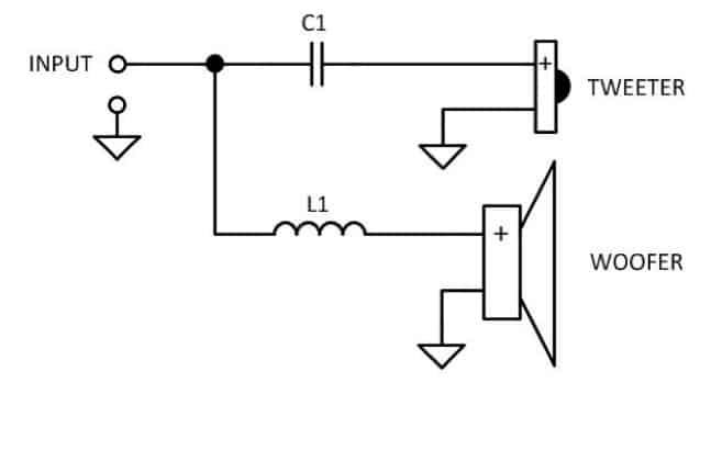 way speaker crossover wiring diagram two get free image about wiring