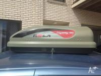 Rola car roof rack pod 150 L for Sale in SHAILER PARK ...