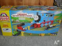 THOMAS GIANT TRAIN SET and train table for Sale in ...