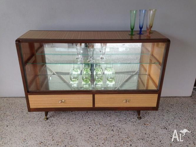 Vintage Sideboard Drinks Cabinet Vintage Retro Danish Style Buffet/ Sideboard/drinks
