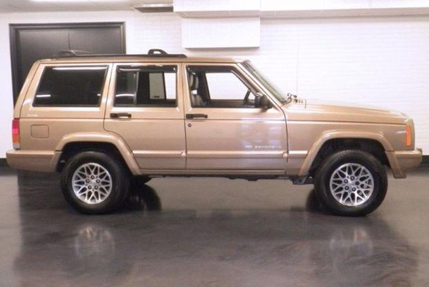 Jeep Cherokee XJ The Next Highly Collectible Old SUV? - Autotrader