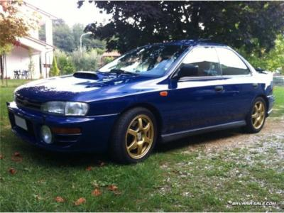 Sold Subaru Impreza rally look 555. - used cars for sale