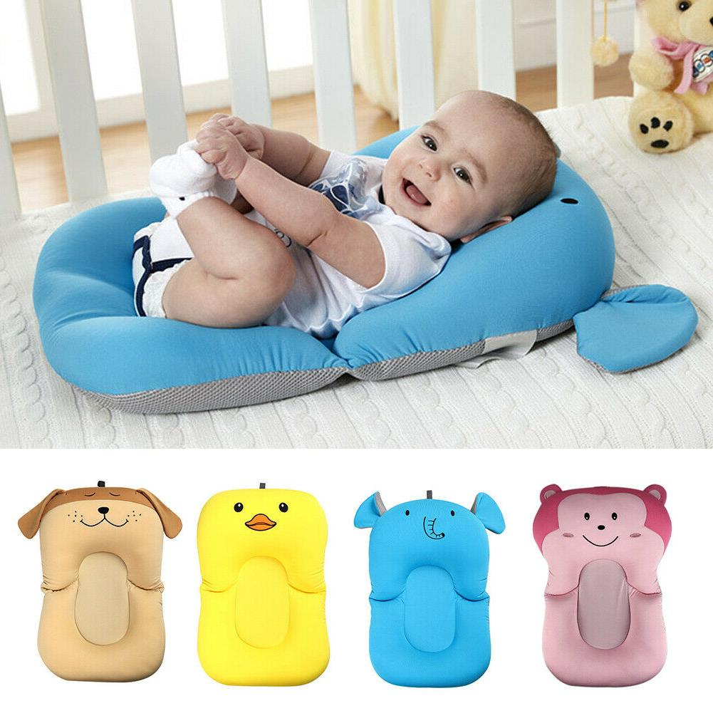 Infant Bath Time Products Baby Bath Tub Pillow Pad Lounger Air Cushi
