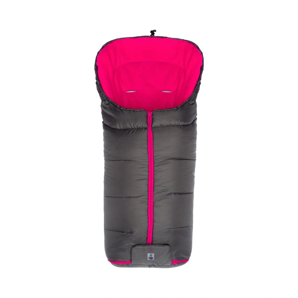Buggy Kinderwagen Kaufen Winter Fußsack Eco Big Für Kinderwagen Buggy Grau Pink